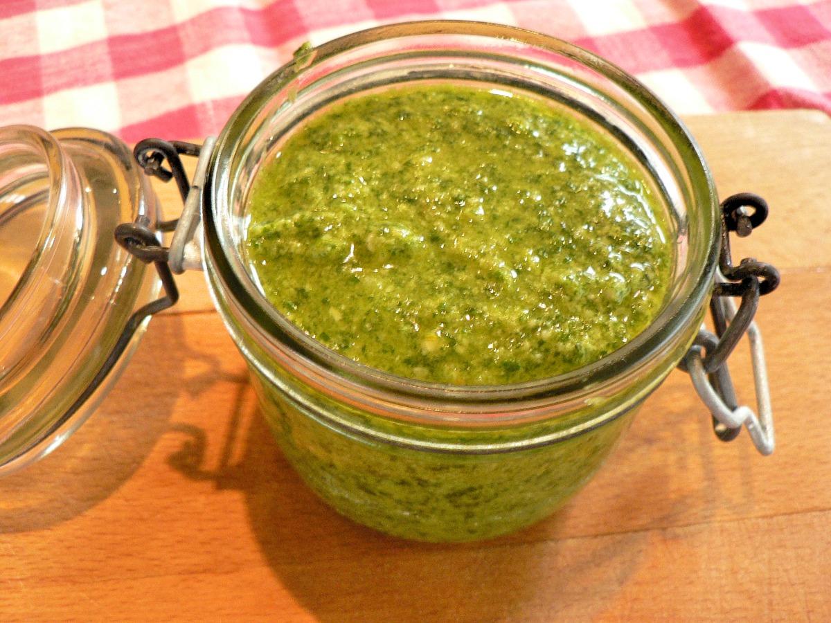 Arugula (Rocket) Pesto Recipe