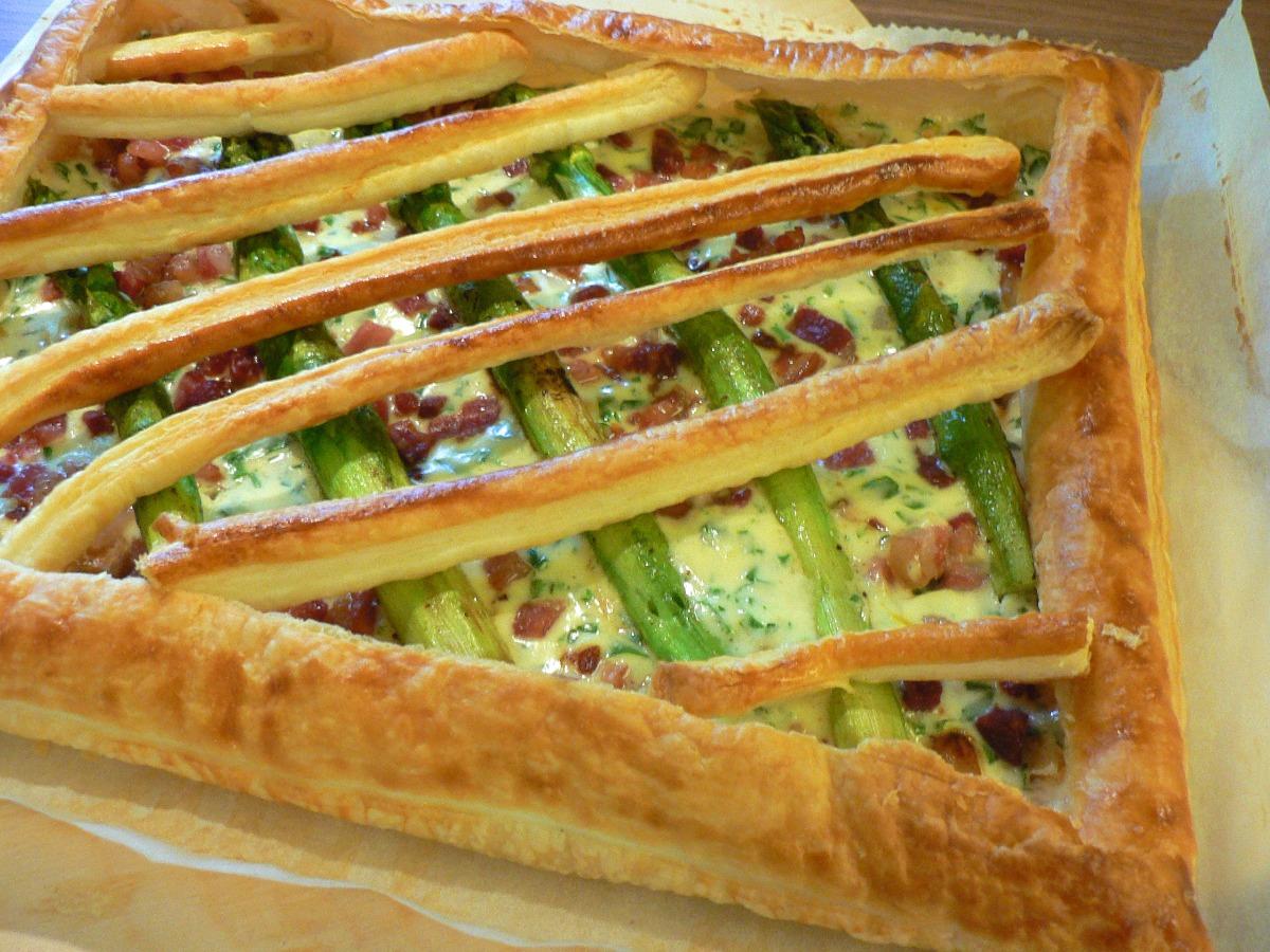 Asparagus and Bacon Tart Recipe