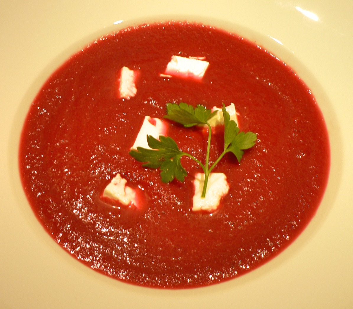 Beetroot Soup with Feta Recipe