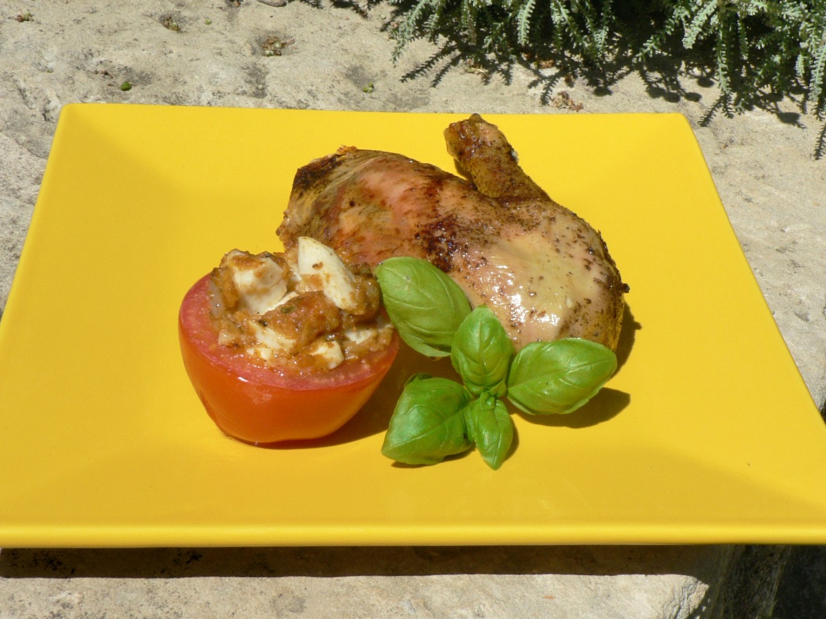 Chicken with Anchovy Sauce Recipe