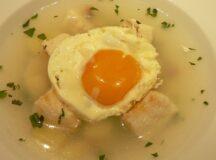 Codfish Soup (Sopa de Bacalhau)