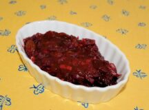 Cranberry Chipotle Sauce