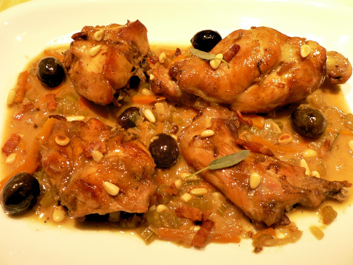 Etruscan-style Rabbit Recipe