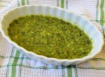 Garlicky Oregano Sauce