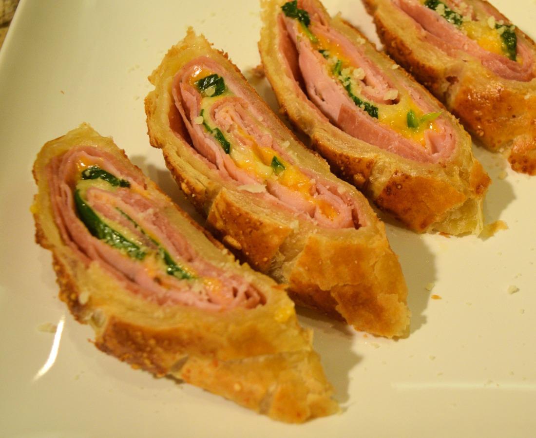 Ham and Cheese Strudel Recipe