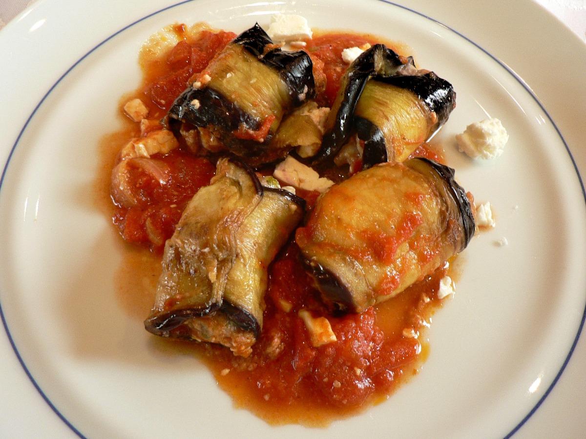 Involtini di Melanzane (Eggplant Roll-Ups) Recipe