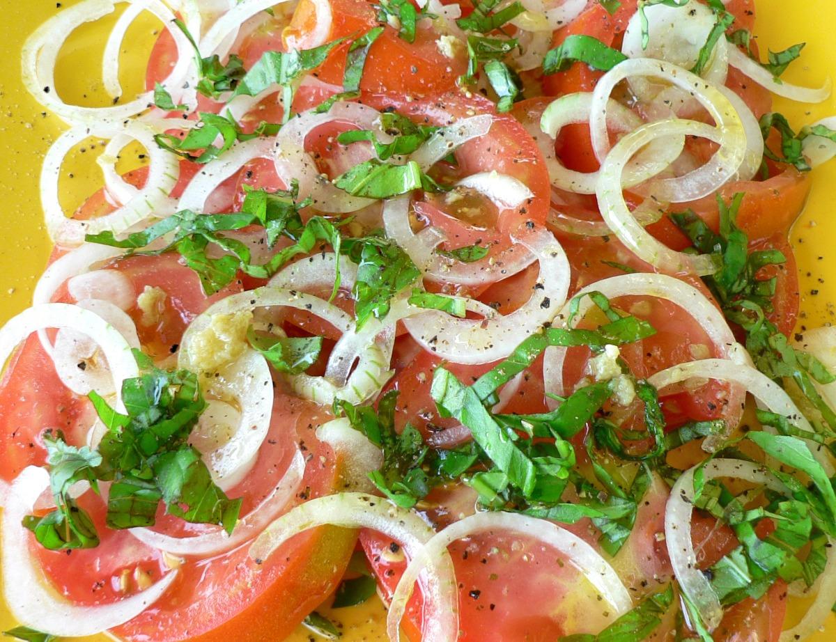 Moroccan Tomato Salad Recipe