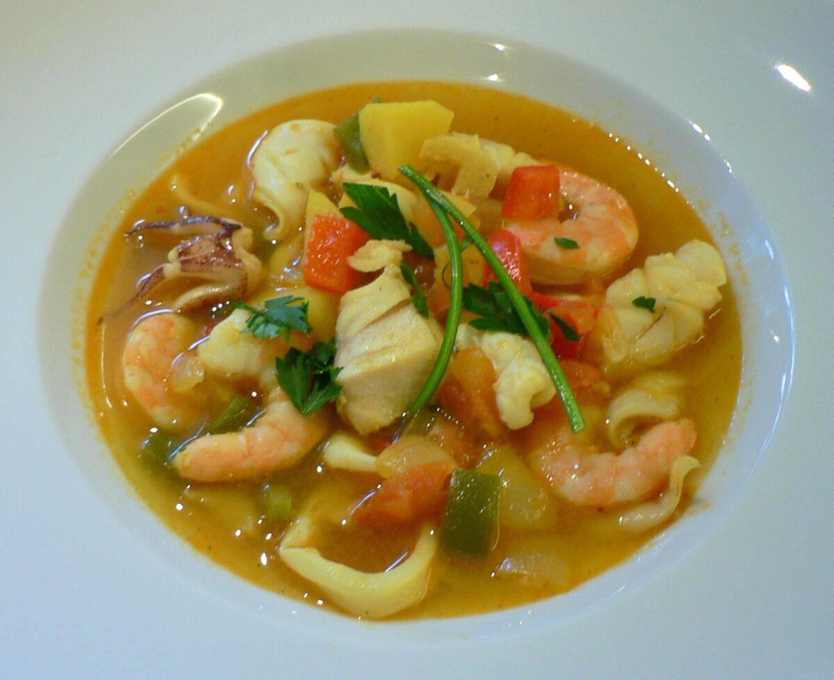 Portuguese Fish Soup Recipe