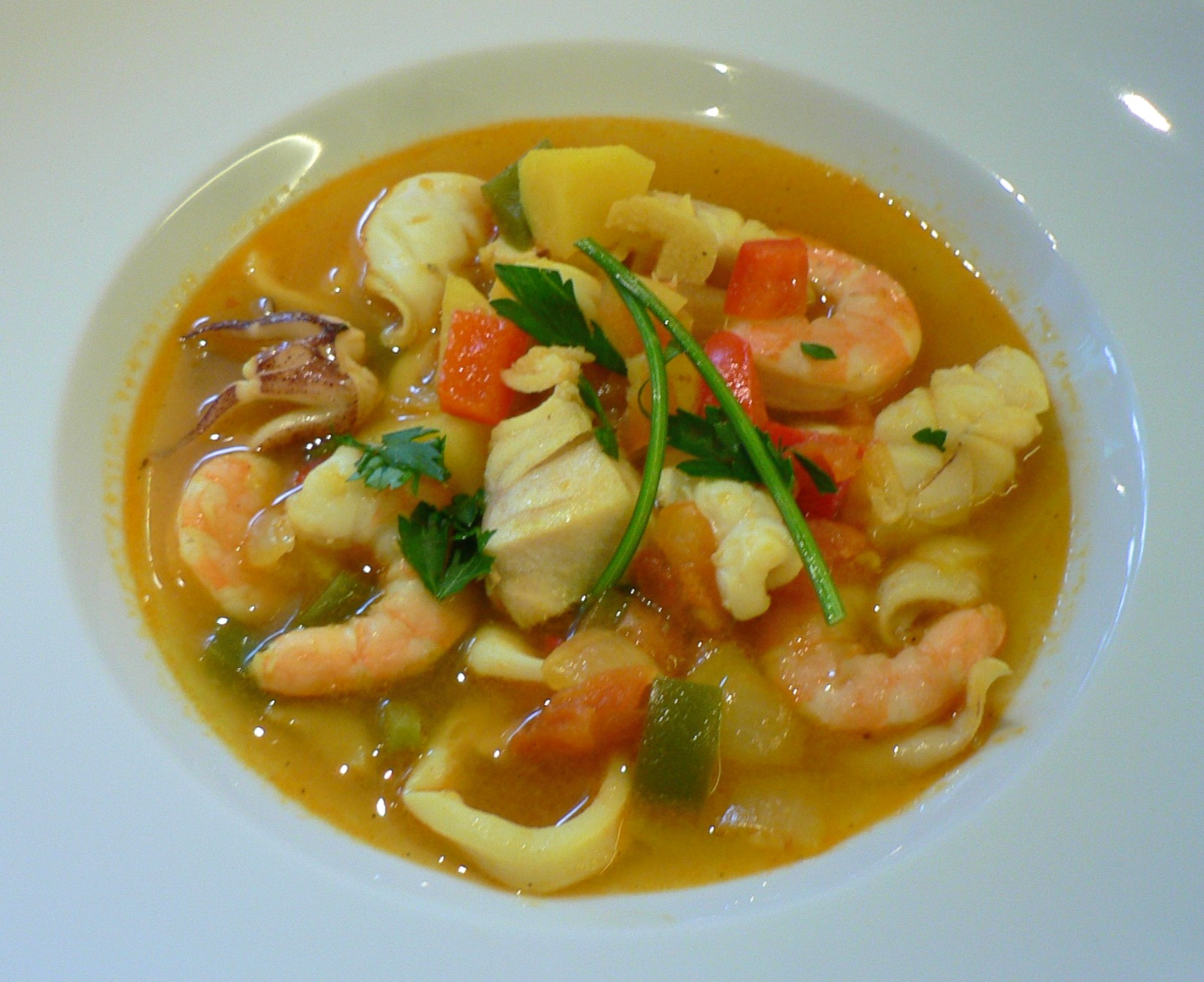 Portuguese Fish Soup Recipe