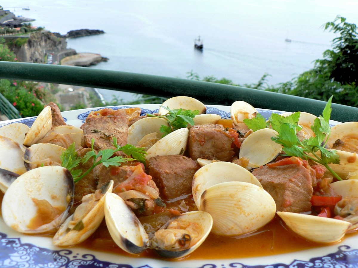 Portuguese Pork and Clam Stew Recipe