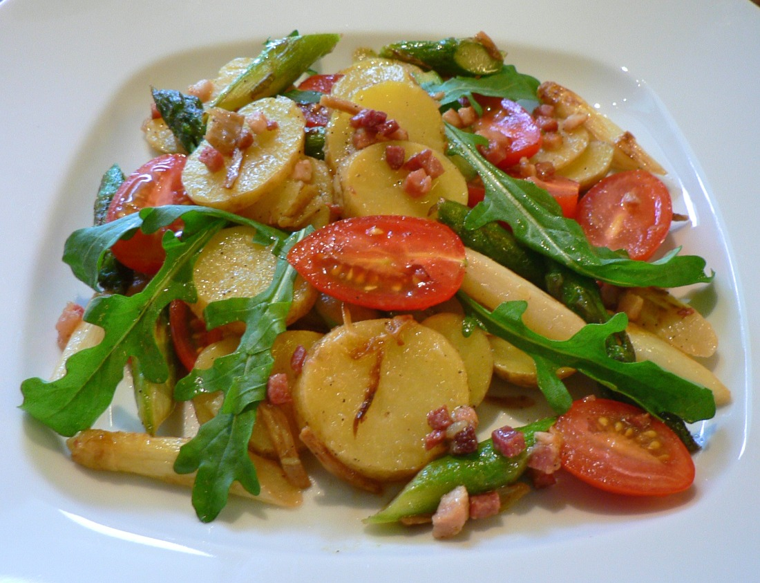 Potato and Roasted Asparagus Salad Recipe