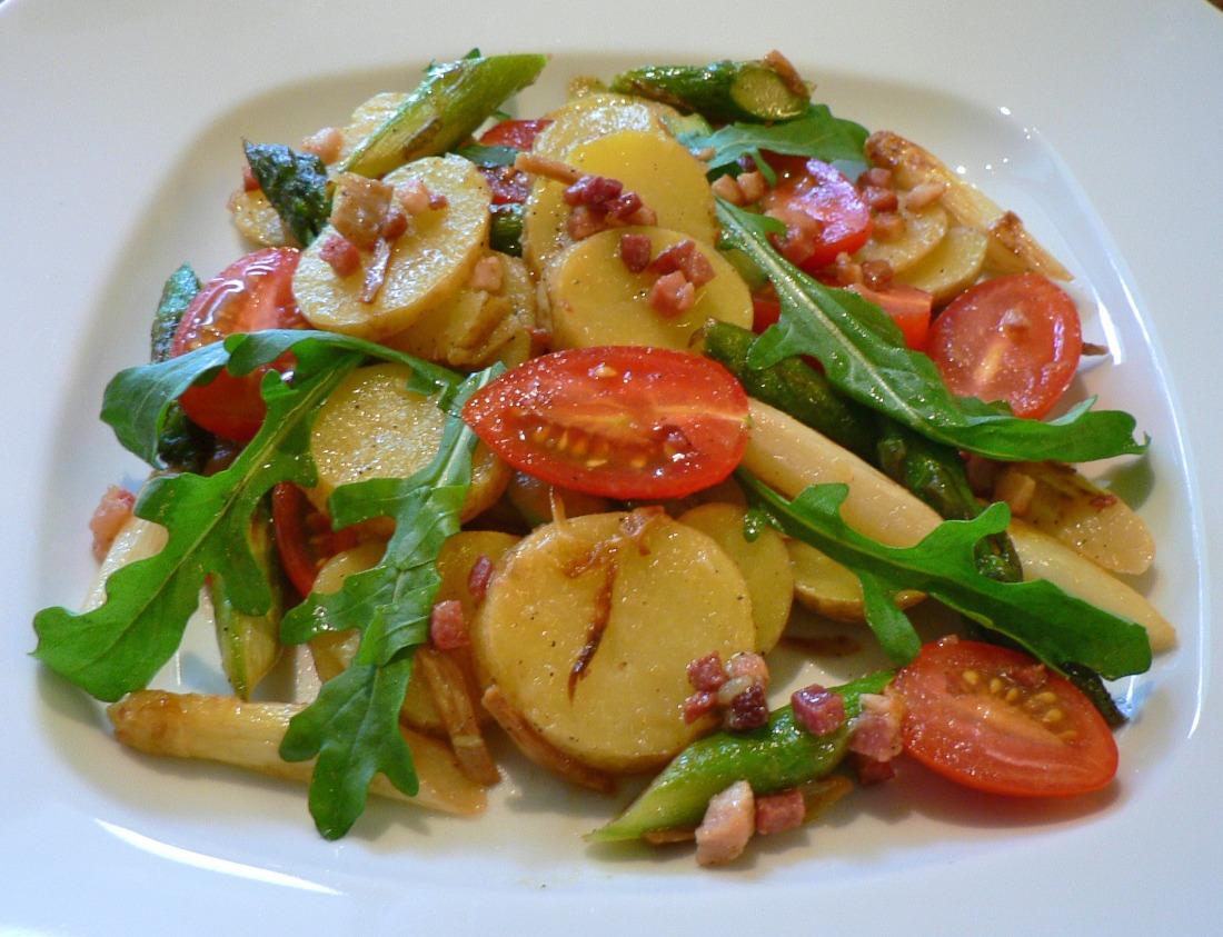 Potato and Roasted Asparagus Salad Recipe