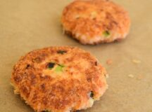 Salmon Fish Cakes with Spicy Cilantro Lime Sauce