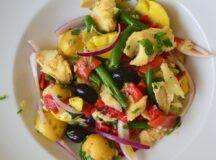 Salt Codfish Salad