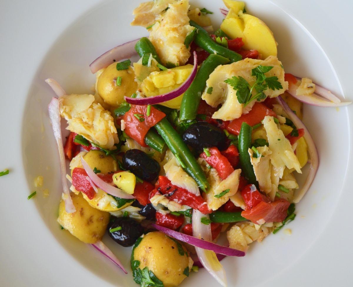 Salt Codfish Salad Recipe
