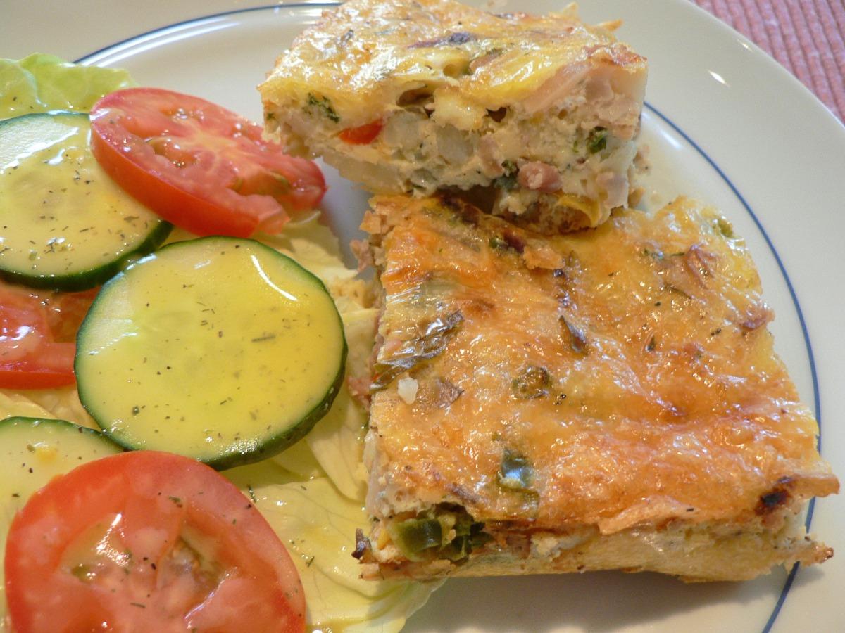 Spanish Vegetable Torte Recipe