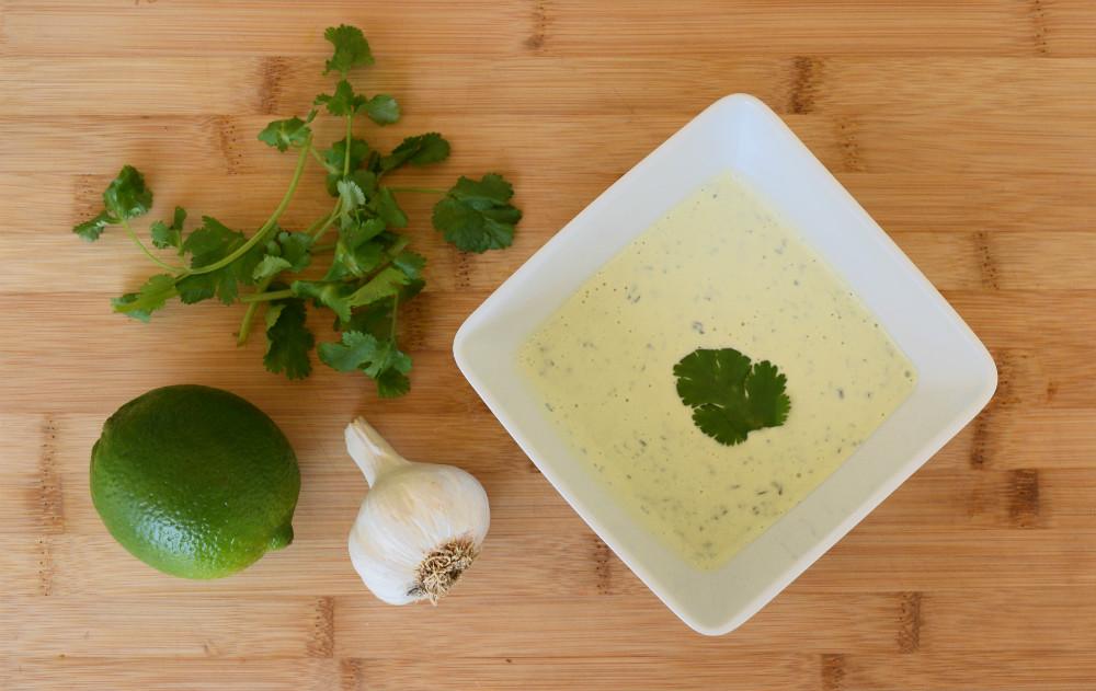 Spicy Cilantro Lime Sauce Recipe