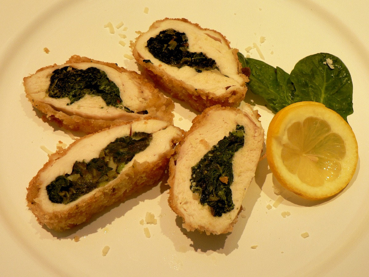Spinach Stuffed Chicken Breasts Recipe