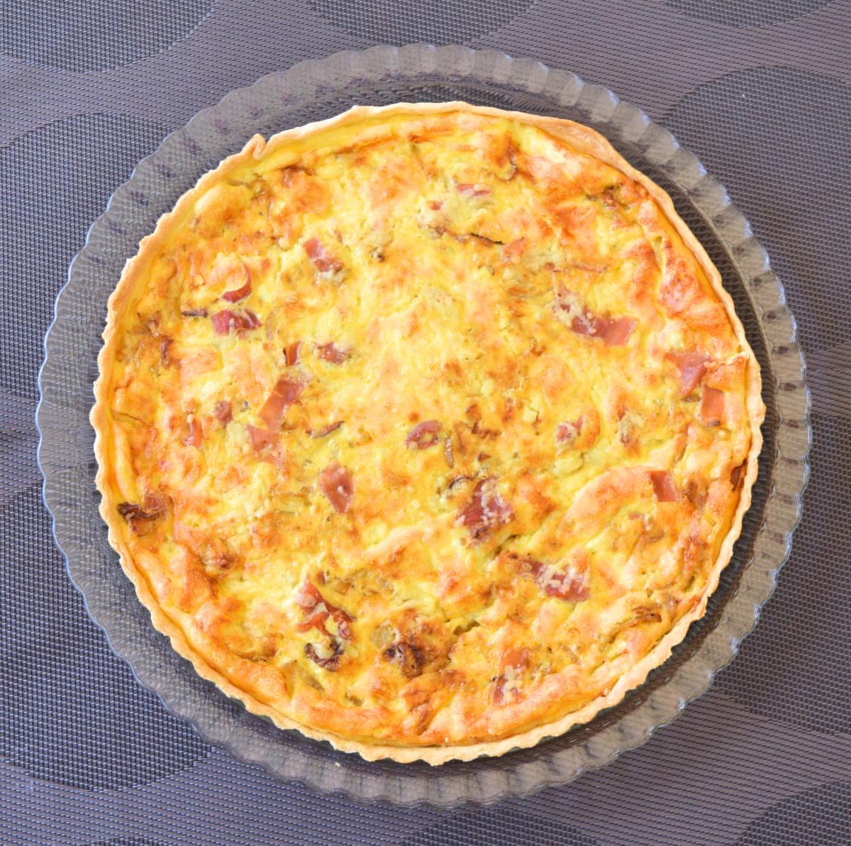 Swiss Onion Tart with Speck Recipe