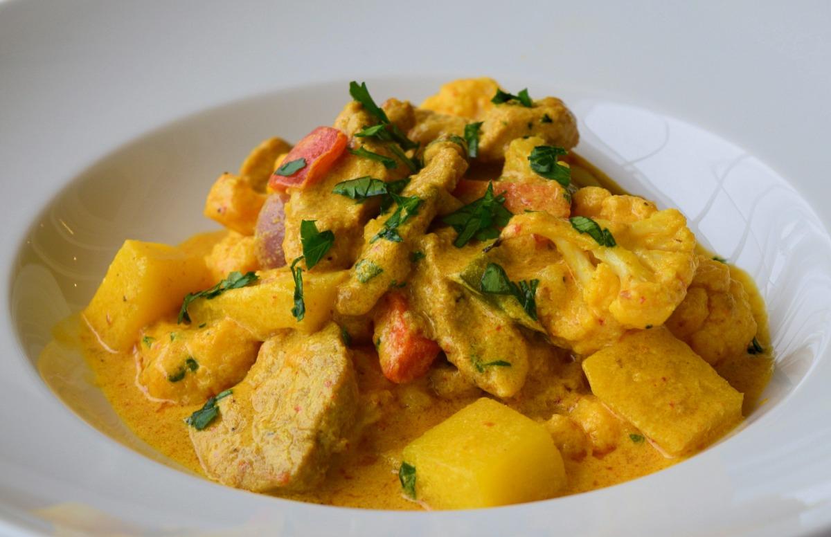 Thai Pork and Vegetable Curry Recipe