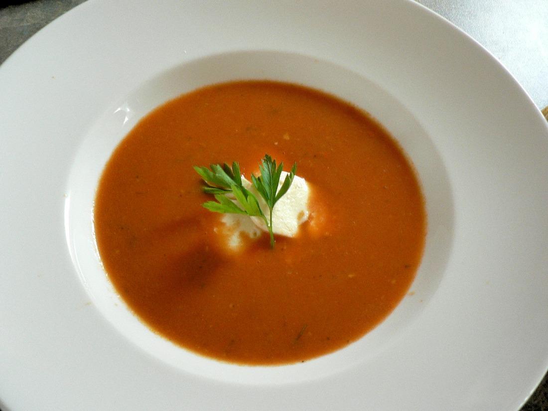 Tomato and Mozzarella Soup Recipe