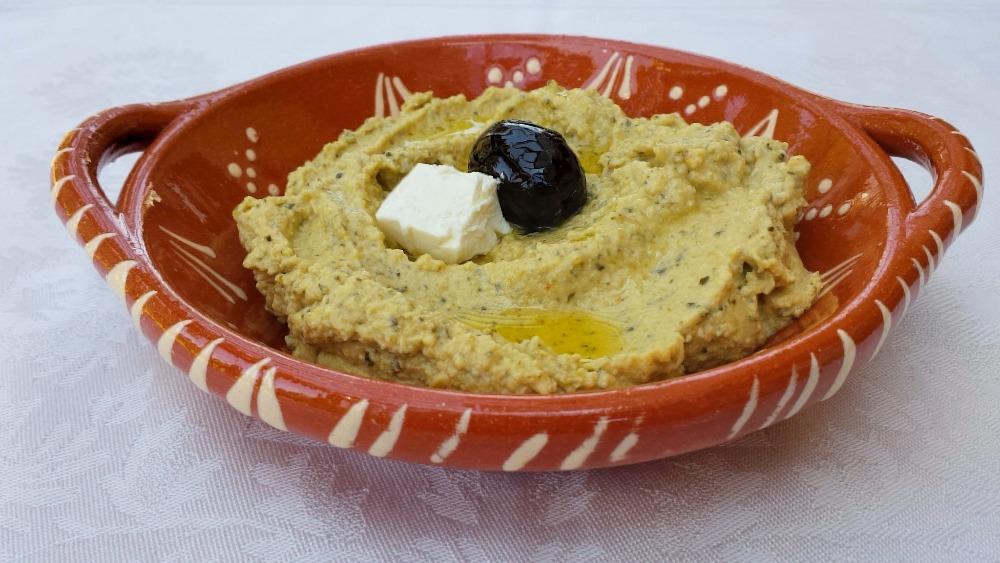 Zucchini Hummus with Pine Nuts Recipe