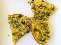 Kale and Chorizo Frittata
