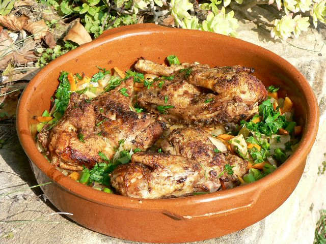 Rock Cornish Game Hens in Escabeche Recipe