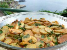 Salt Cod and Potato Bake