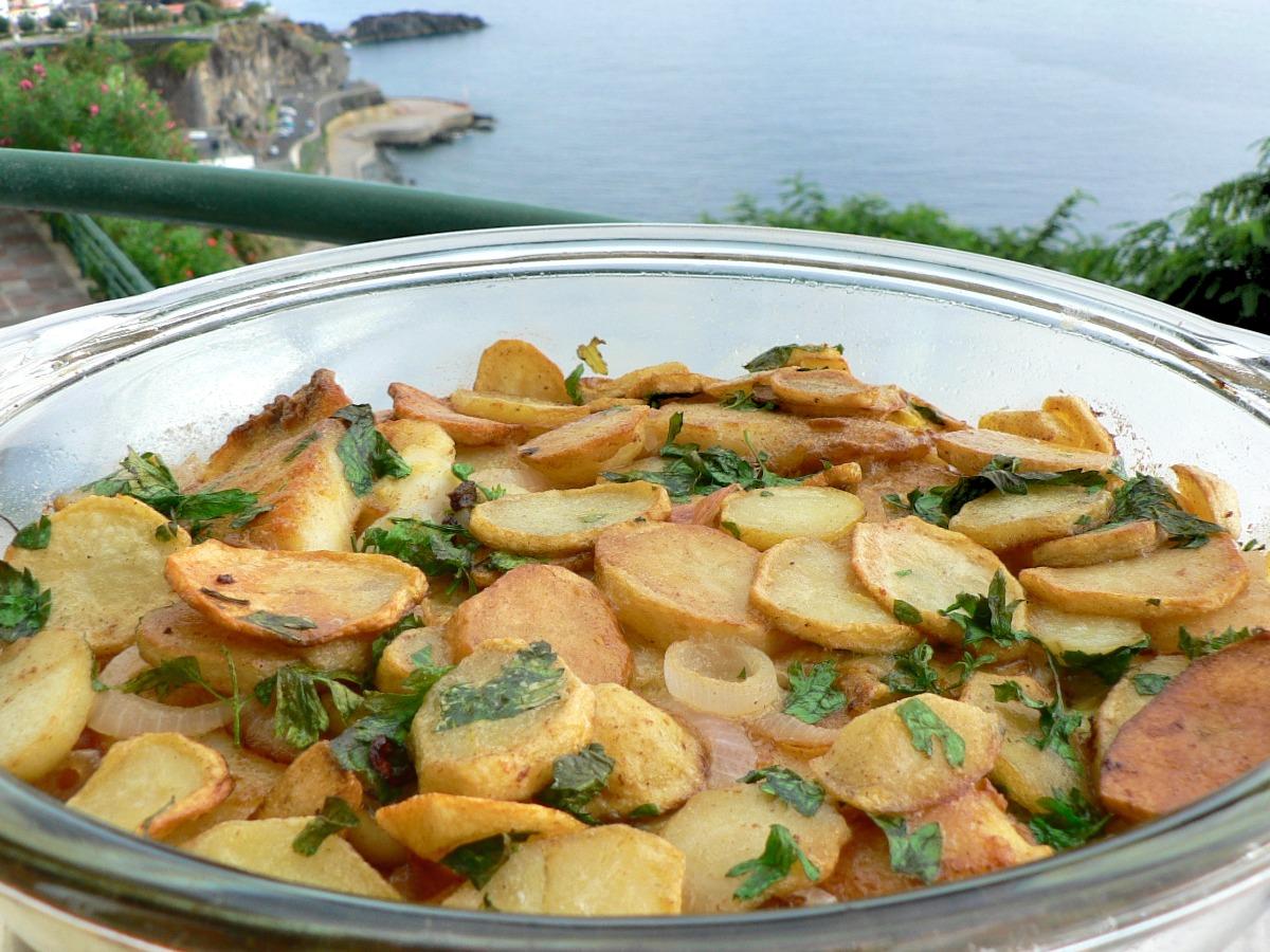 Salt Cod and Potato Bake Recipe