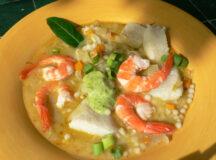 Seafood Stew with Parsley Aïoli