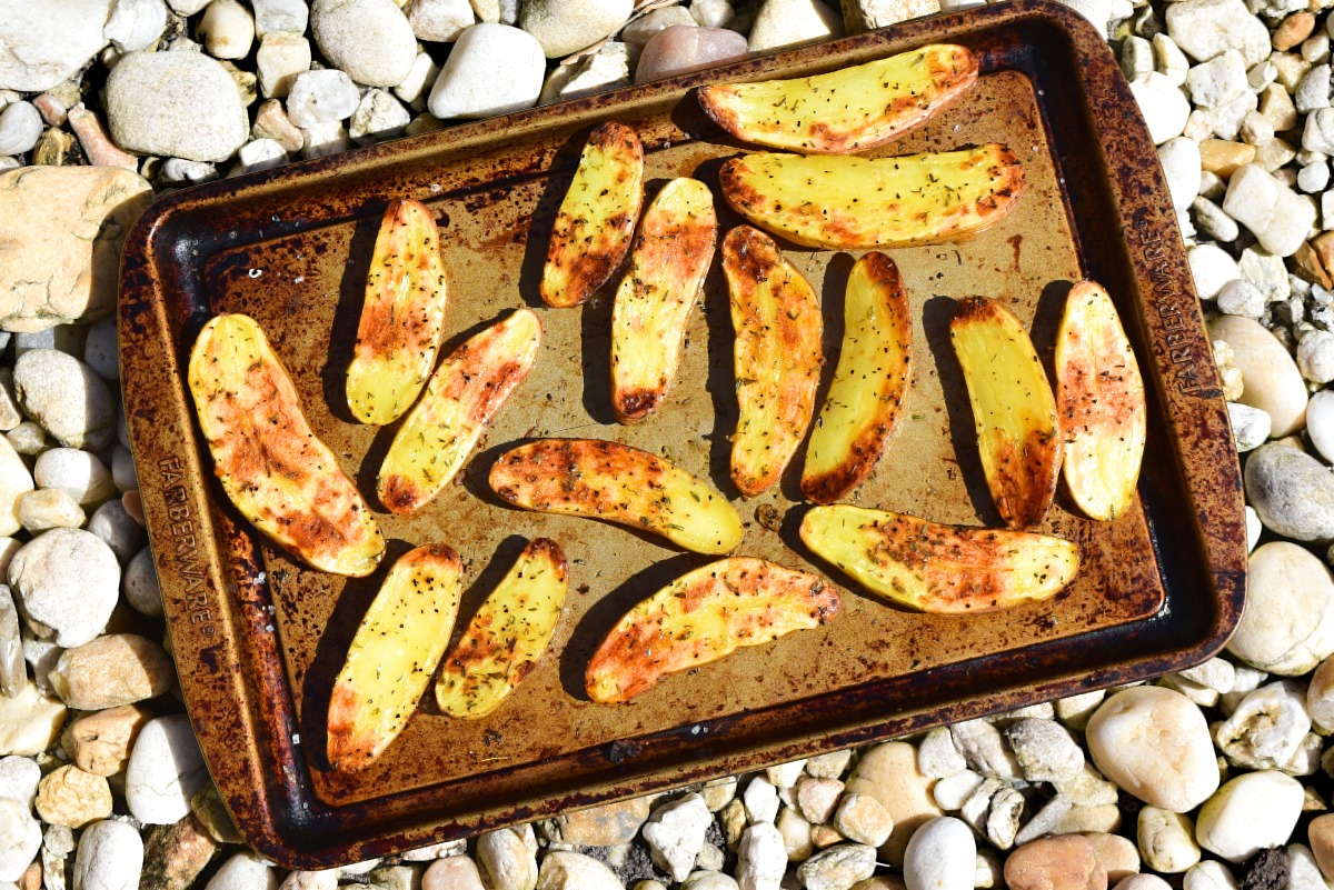 Roasted Rosemary Fingerlings Recipe
