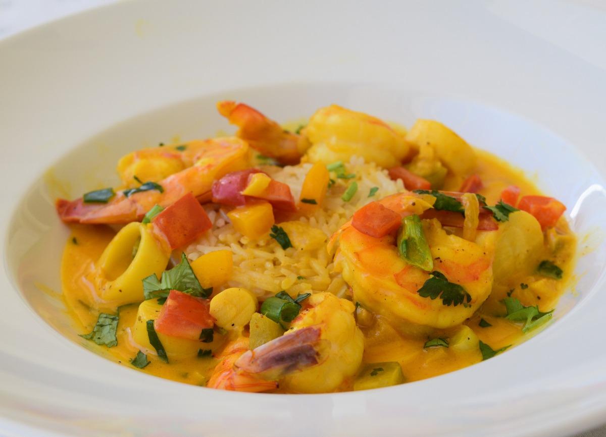 Spicy Shrimp and Heart of Palm Moqueca Recipe