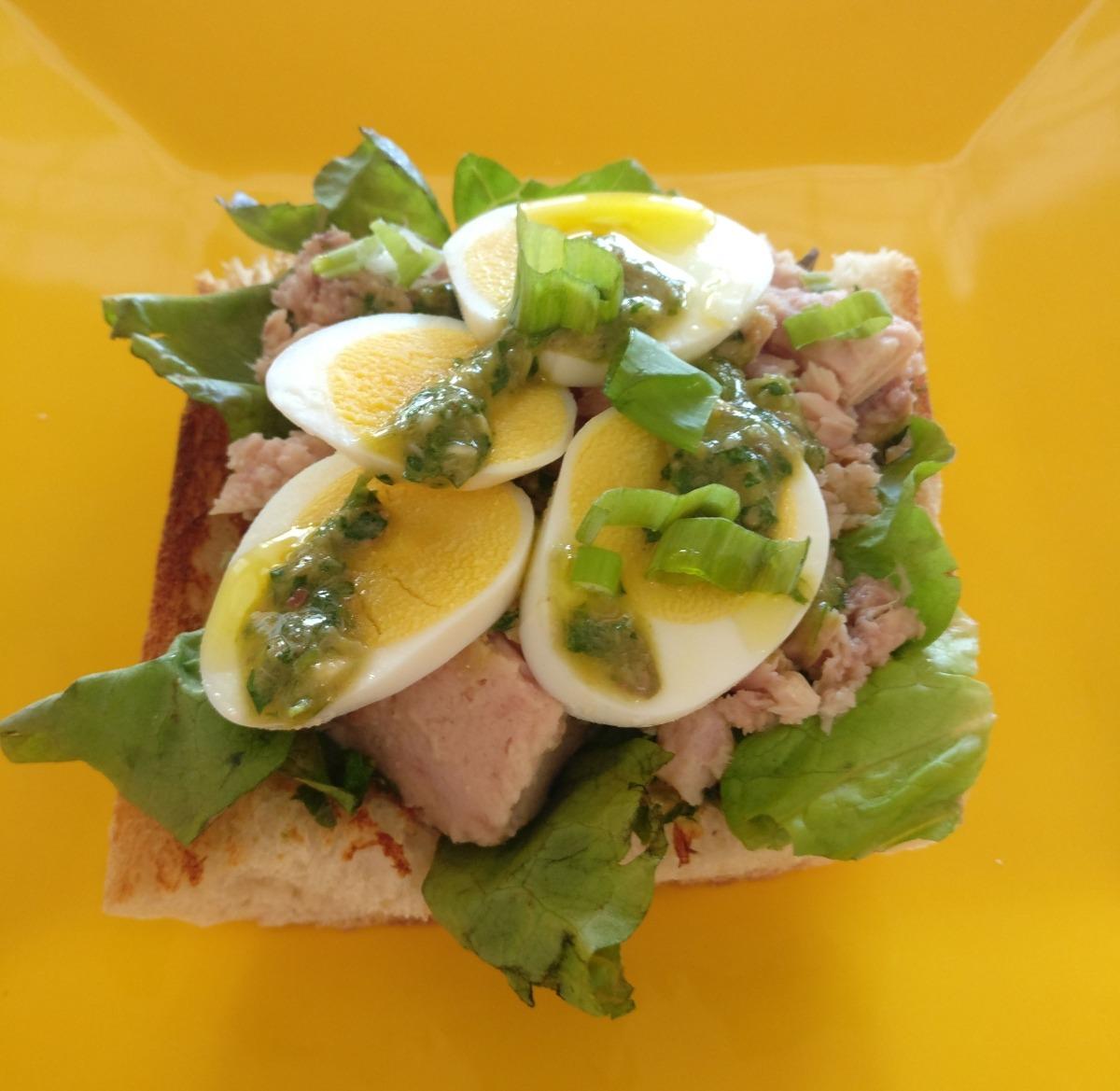 Provençal Tuna Tartine Recipe
