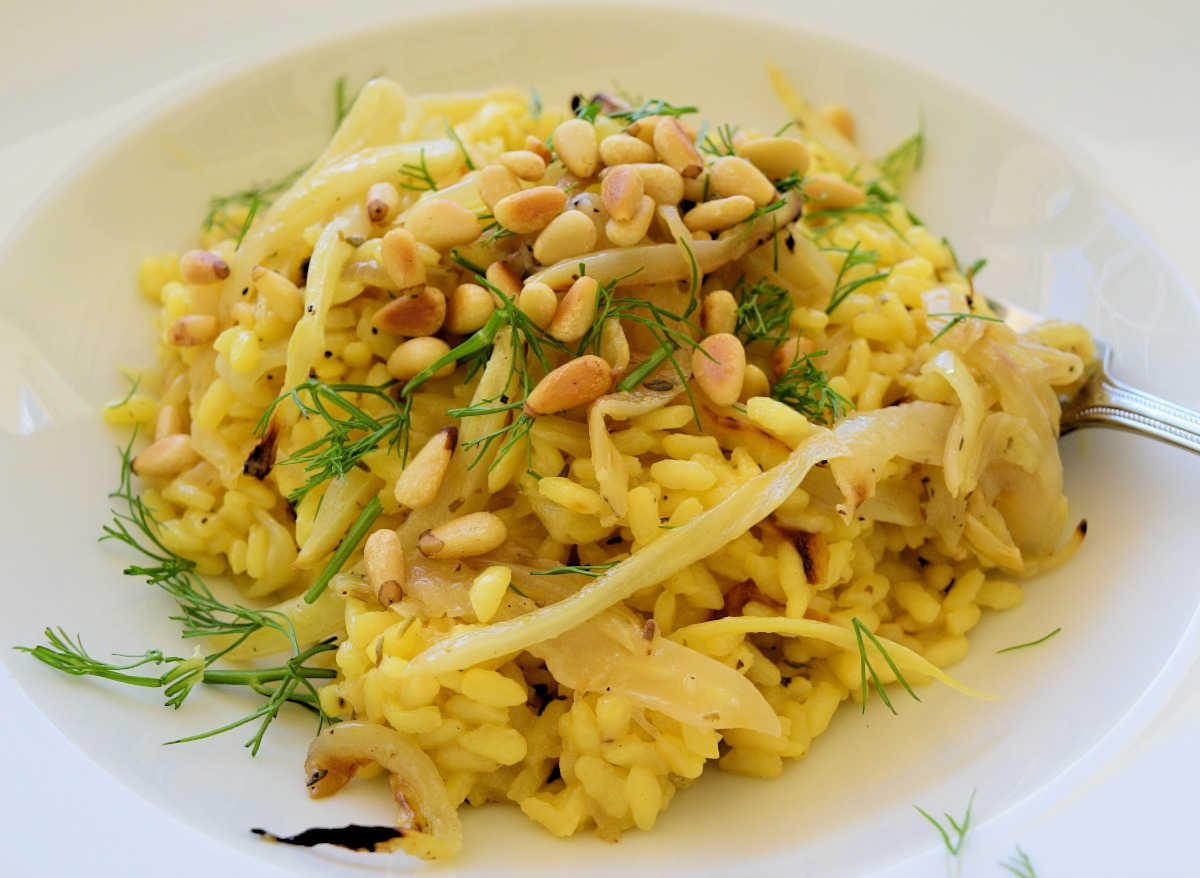 Risotto with Roasted Fennel and Pine Nuts Recipe