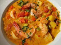 Peruvian Shrimp Chowder (Chupe de Camarones)