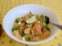 Chicken Curry with Lime and Coconut