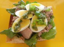Provençal Tuna Tartine