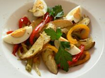 Roasted Potato and Bell Pepper Salad