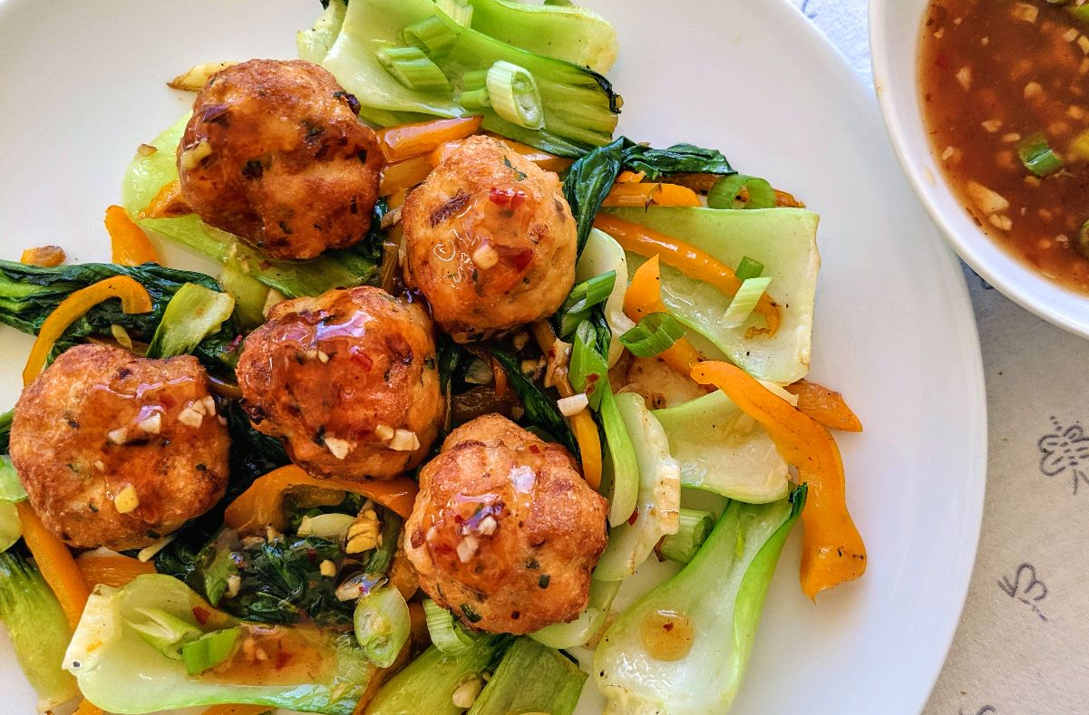Crispy Fish Balls with Sweet and Spicy Sauce Recipe
